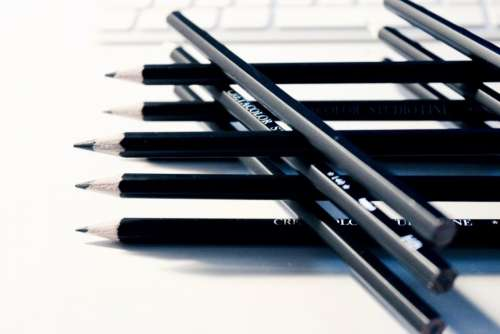 pencils writing drawing creative design