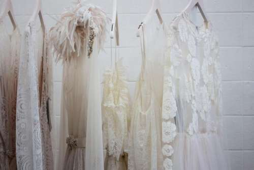 dress white wardrobe closet wall