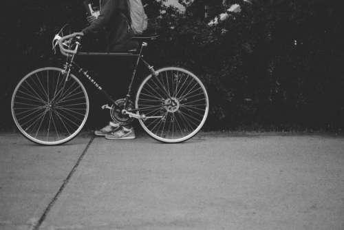 bike bicycle street road people