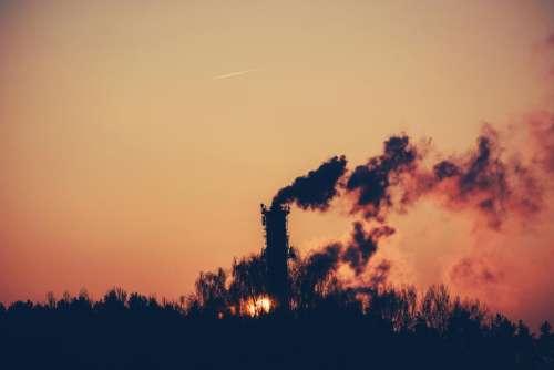 surnrise dawn shadows silhouette smoke
