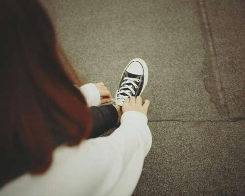 people woman sneakers shoes converse