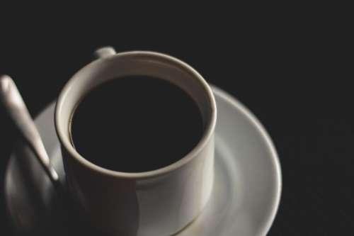 black coffee americano hot drink