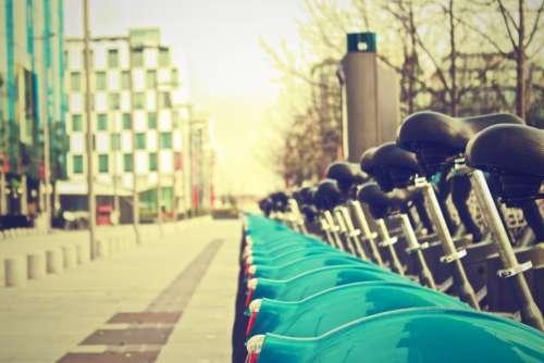 bikes bicycles streets city urban