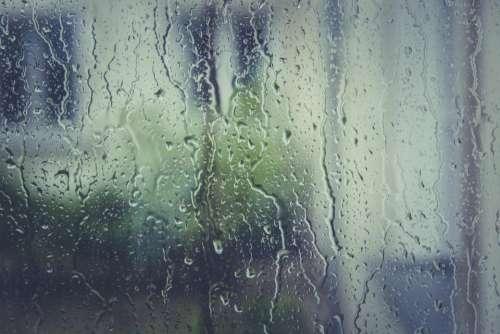 rain raining rain drops window wet
