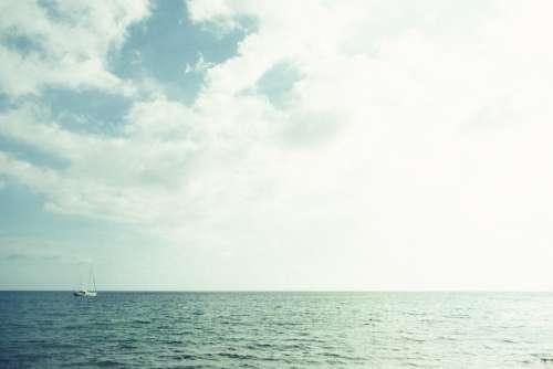 water ocean sea sailboat sailing