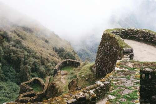 machu picchu landscape tourist spot peru mountain