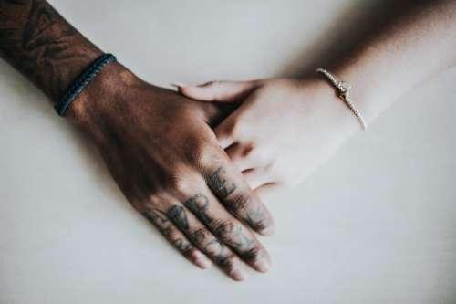hands bracelet tattoo art design