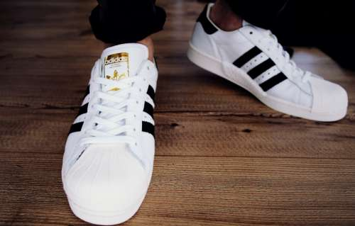 adidas white trainers sneakers vintage