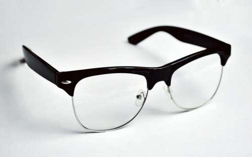 eyeglasses black and white reading frame