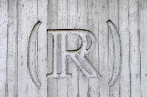 wood wall r engraving art