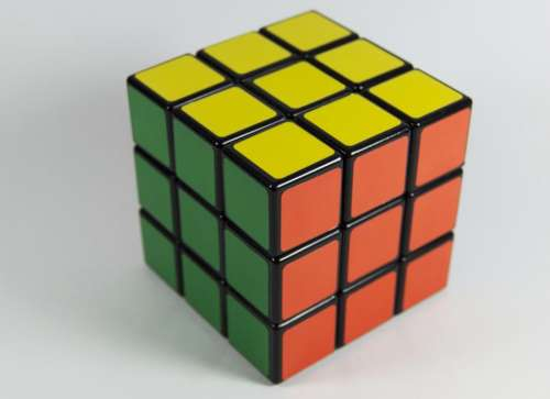 rubiks cube toy game colors