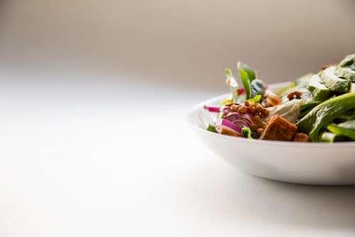 vegetable salad health green leaf
