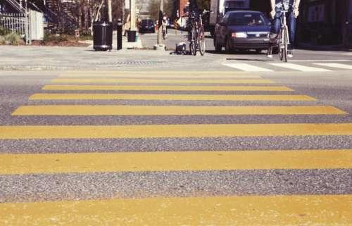 crosswalk crossing streets roads bikes