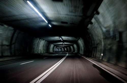 architecture structures tunnel tube concrete