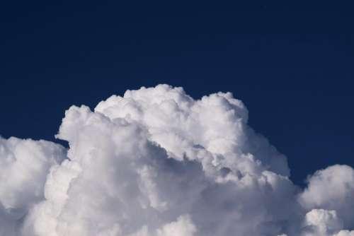 cloudy blue sky clouds nature
