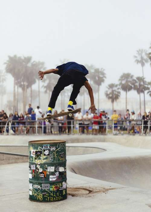 people man skate board sport