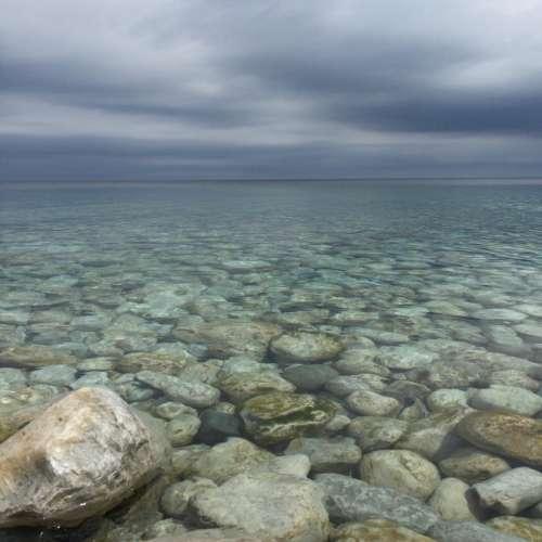 water ocean sea beach rock
