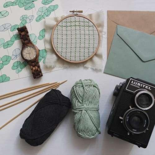 yarn thread knitting clothing envelope