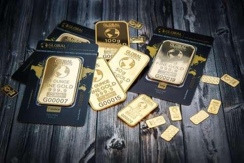 gold sticker design ounce