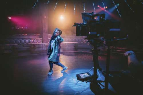 people man dance perform video
