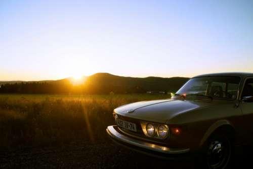 car auto vehicle travel sunlight