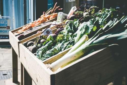 outdoor vegetable market stall market goods