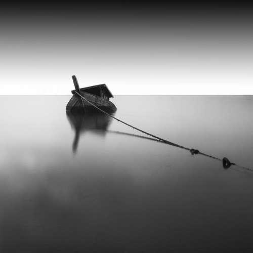boat rope wood sea ocean