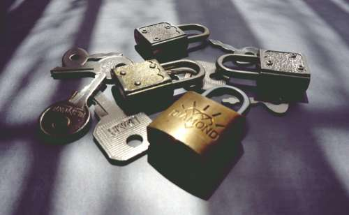 keys lock padlock security locked