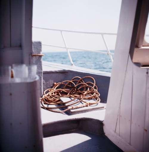 boat yacht travel adventure rope