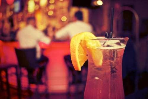 cocktail drink alcohol glass orange