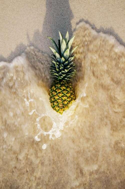 pineapple dessert appetizer fruit juice