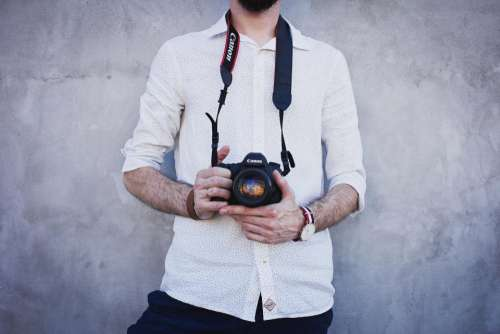 canon lens camera photography people