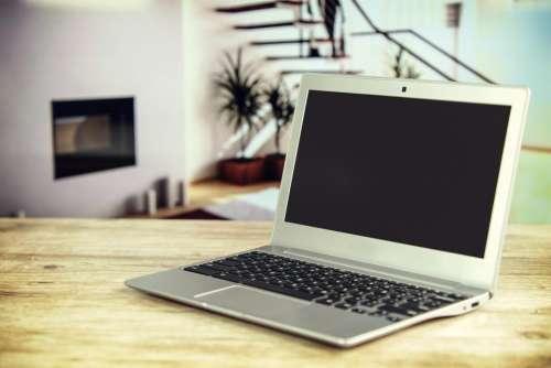laptop computer technology electronics table