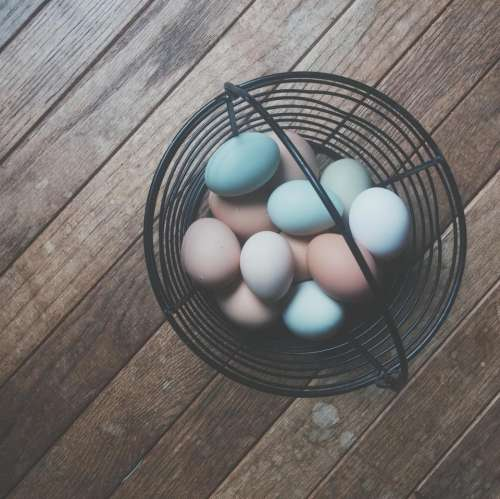 basket eggs easter hardwood floors