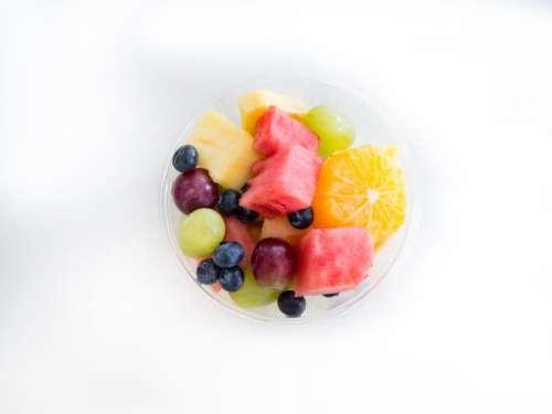 fruit salad fruits cup bowl food