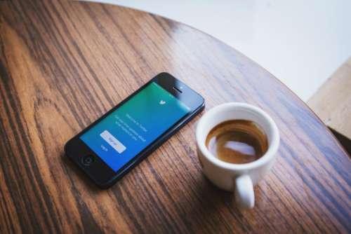 twitter social media business iphone mobile