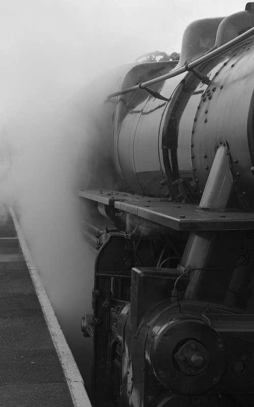 transportation train rail express steel