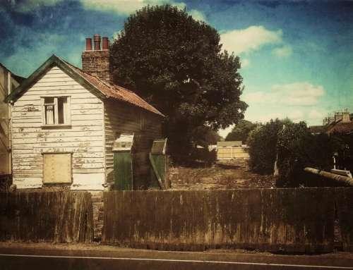 vintage house old antique aged