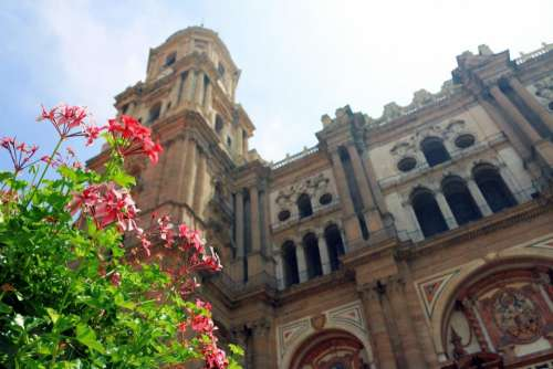 malaga cathedral architecture building
