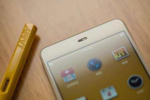 lamy phone cellphone technology brown
