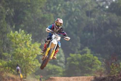 motocross race sport game motorcycle