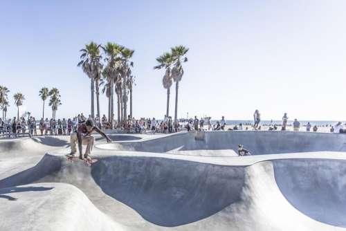 skateboard skater skate park half pipe jump
