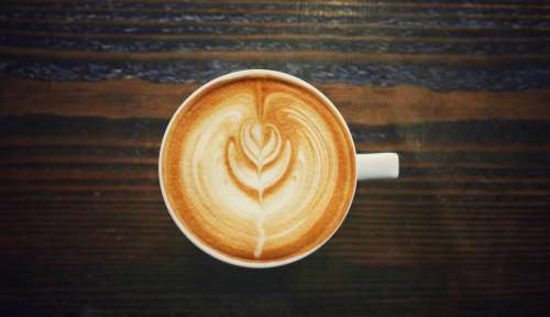 hot drink white cup coffee
