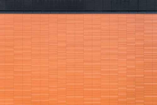 orange wall pattern