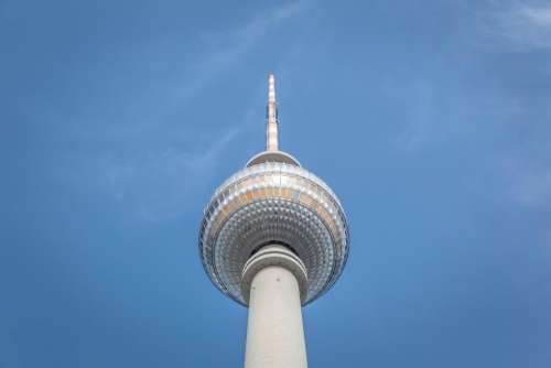 tower architecture skyscraper sky blue