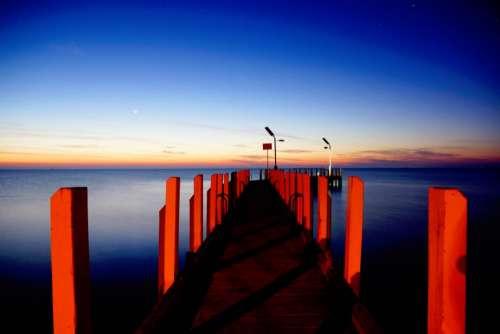 nature water sea ocean horizon