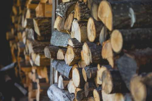 wood brown furniture logging