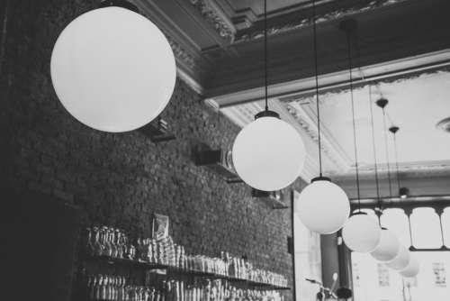 lights fixtures decor bar restaurant