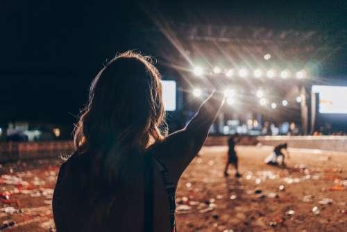 bluesfest festival music festival girl lights