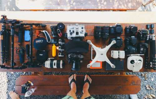 tripad lens osmo camera canon